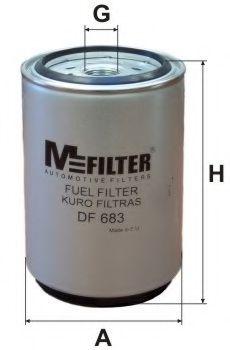 Топливный фильтр MFILTER DF 683