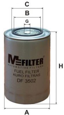 Топливный фильтр MFILTER DF 3502