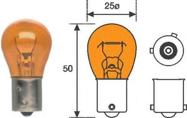 Лампа накаливания фонаря указателя поворота MAGNETI MARELLI 008507100000